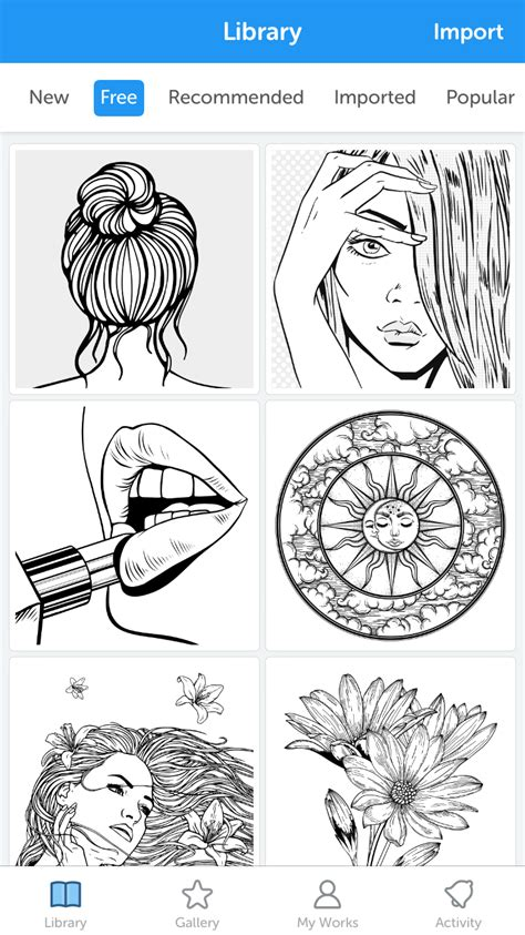 re color recolor coloring book 4 2 3 free the