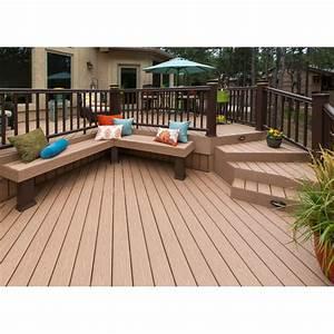lames en bois composite pour terrasse et amenagement With lames composites pour terrasse
