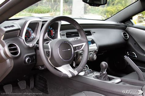 2010 camaro ss interior drive 2010 chevy camaro ss review sub5zero