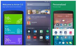 Microsoft's Arrow Launcher for Android nabs big update ...