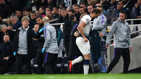 Champions League » News » Kane limps off in Spurs v Man ...