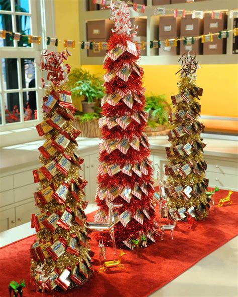 chocolate decorations  christmas trees