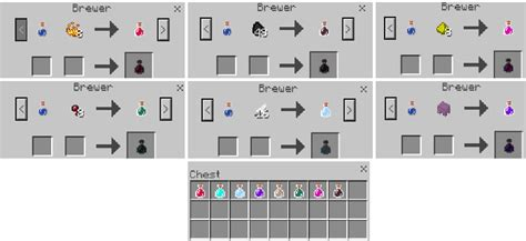 potions addon minecraft pe mods addons