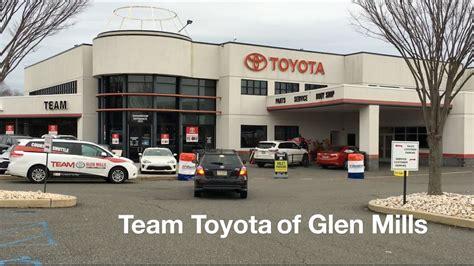 Team Toyota Glen Mills by Service Center Grand Opening Team Toyota Of Glen Mills