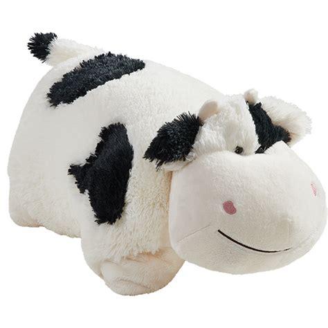 my pillow pets cow pillow pet cow stuffed animal my pillow pets
