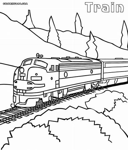 Train Coloring Maglev Railway