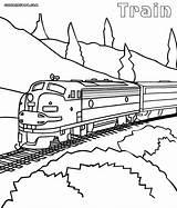 Train Coloring Maglev sketch template