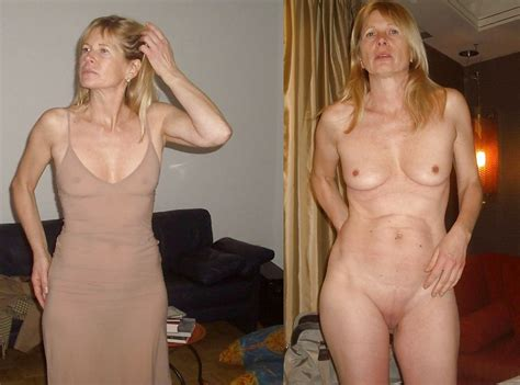 Dressed And Undressed Wives Milf Housewives 217 Pics 2