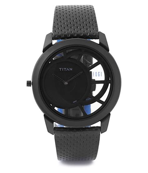titan ts nd1576nl01a black dial watch for men price in