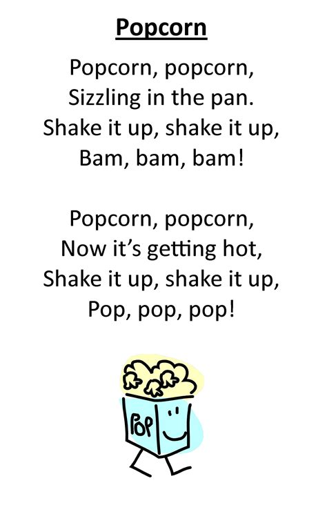 itty bitty rhyme popcorn rhyme and even more to 566 | b86c09dea9804465d4b70772e81db7b1
