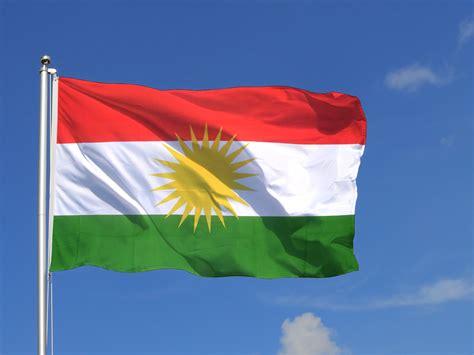 Große Kurdistan Flagge - 150 x 250 cm - FlaggenPlatz.de