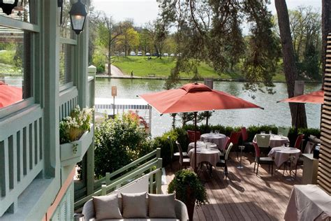 restaurant chalet des iles the summer spot offers a fresh menu and picnics hotel louvre marsollier