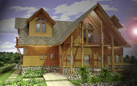 desain rumah kayu minimalis  lantai marte designs rumah