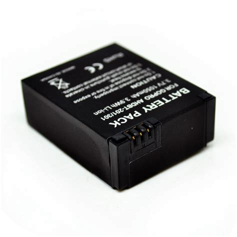 gopro battery battery replacement 1050mah for gopro hd 3 ahdbt