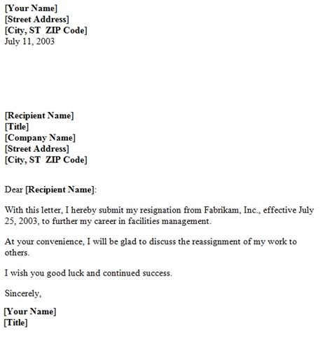 resignation letter sle with one month notice period template for resignation letter sle 28 images template 24298