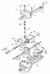Mtd 13a6672g129  2000  Parts Diagram For Transmission Assembly