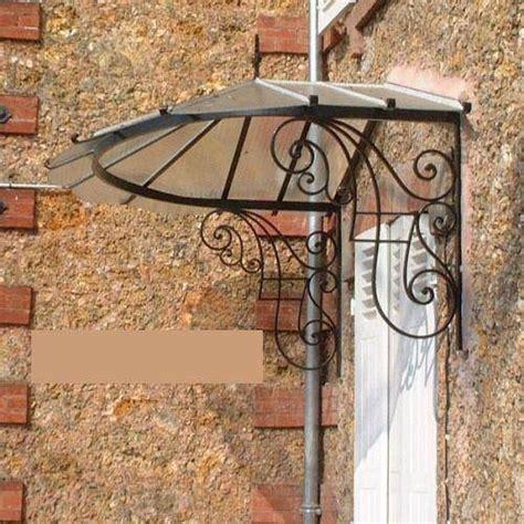 marquise ancienne fer forge marquise en fer forg 233 volutes et p 233 tales 224 toulon ferronnier var 83 ferronnerie d la