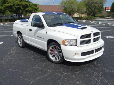 2005 Dodge Ram Srt 10 Commemorative Edition For Sale by Buy Used Srt 10 Viper Truck Commemorative Edition 51 Low