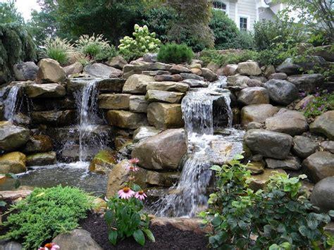 waterfall in backyard backyard waterfall backyard waterfalls and streams pinterest