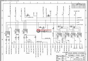 Terex Fermec P100 Cdb Wiring Systems