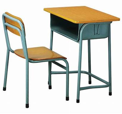 Desk Table Chair Classroom Clipart Tables Chairs