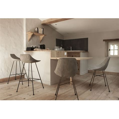 chaises de bar design chaise de bar design béton hauteville by drawer