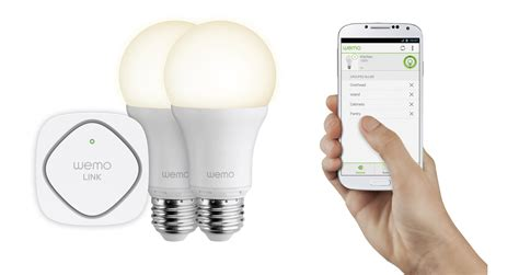 wemo led lighting starter set belkin annonce le lancement des oules connect 233 es wemo