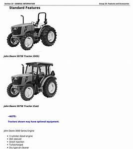 John Deere 5045e  5055e  5065e  U0026 5075e  Ft4  North America