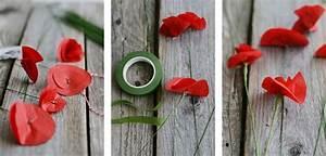 Blumen Aus Seidenpapier : nachmachtipp klatschmohn aus seidenpapier sinnenrausch der kreative diy blog f r ~ Orissabook.com Haus und Dekorationen