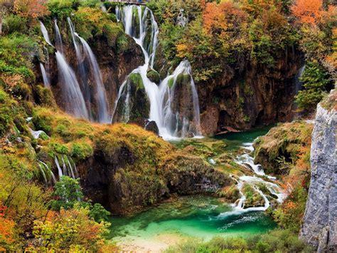 plitvice lakes national park  croatia beautiful