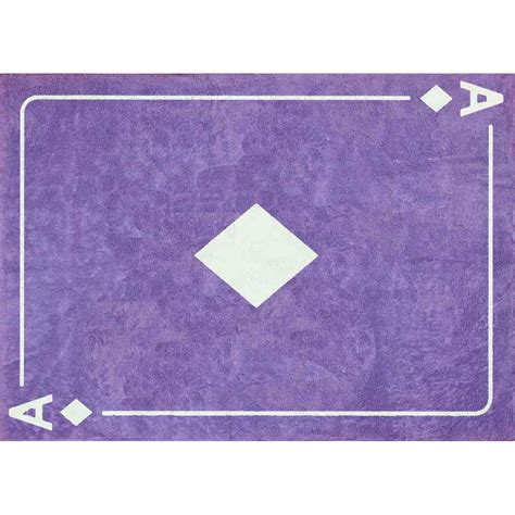 tapis as de carreau violet mauve aratextil