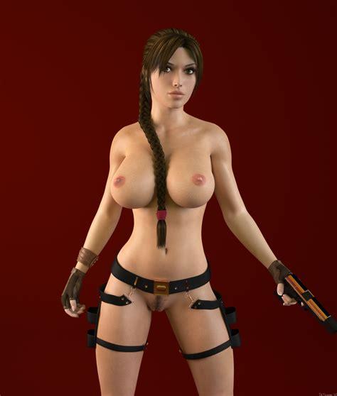 Hot Nude Cg Renders Of The Game Character Lara Croft