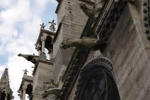 Gargoyles On Notre Dame De Paris
