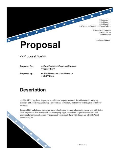 proposal cover sheet template recentresumes com