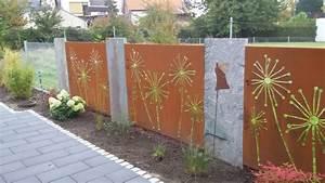 Terrasse Zaun Metall : sichtschutz ~ Sanjose-hotels-ca.com Haus und Dekorationen
