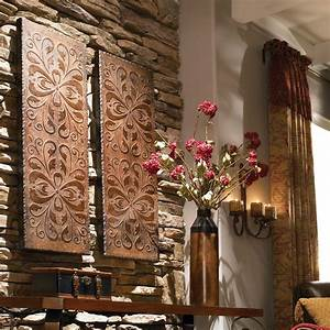 alexia wood wall panels s 2 uttermost
