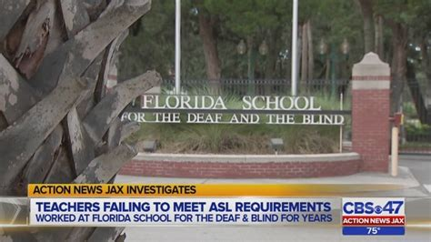 teachers failing  meet asl requirements  florida