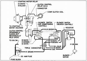 Chevrolet 1959 Air Con Wiring Electrical Diagram