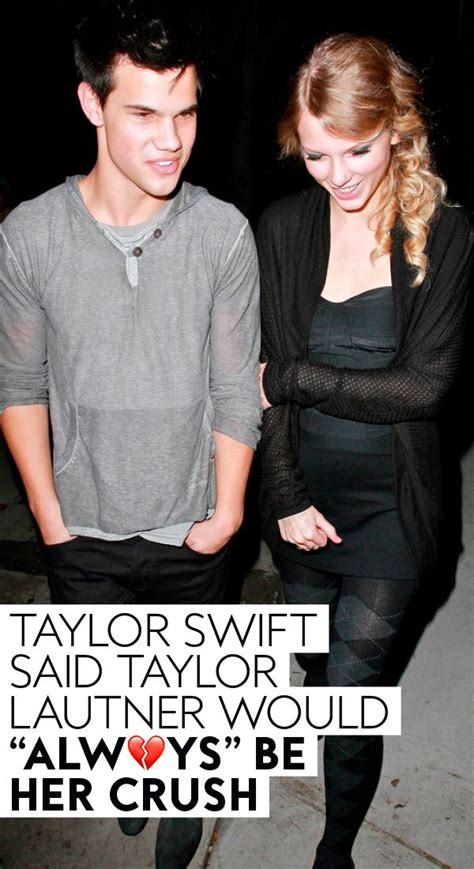 TBT: Taylor Swift and Taylor Lautner   Taylor swift ...