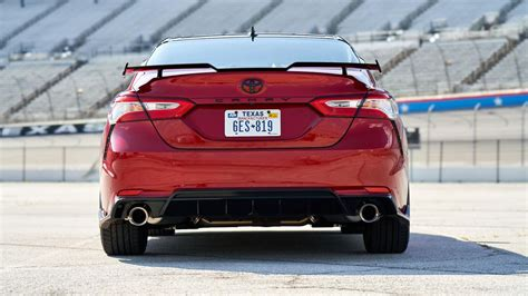 toyota camry trd    wing page  roadshow