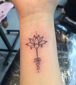 Fleur Lotus Tatouage : photo tatouage fleur de lotus avant bras ~ Mglfilm.com Idées de Décoration