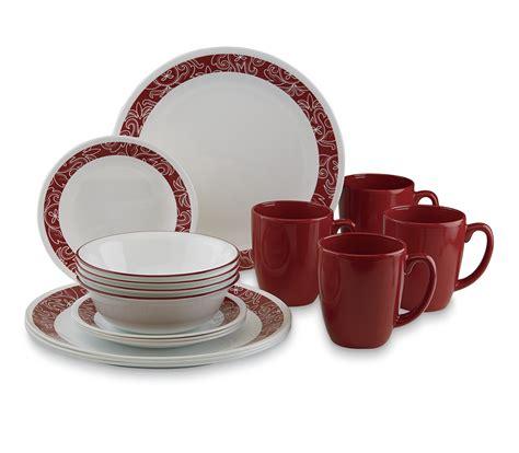 Corelle Livingware 16-Piece Dinnerware Set -Bandhani