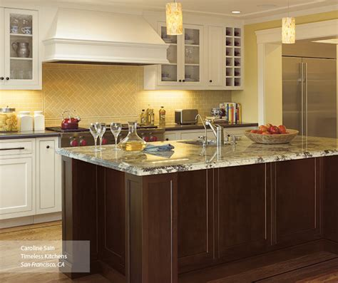 Off White Kitchen Cabinets   Omega Cabinetry