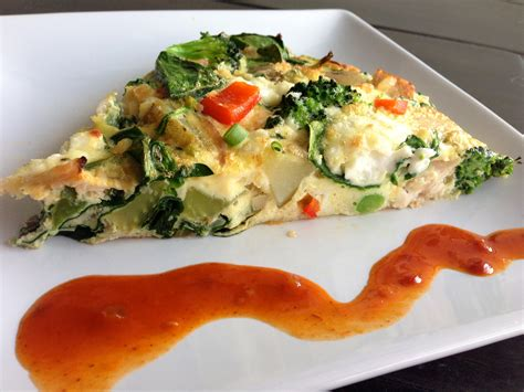 Veggie Frittata Fitness And Fuel Weight Loss And