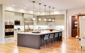 grande cuisine moderne urbantrottcom With grand ilot de cuisine