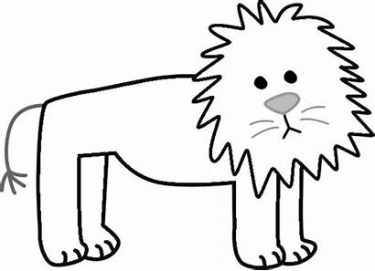 Coloring Lion Pages Cartoon Tiger Printable Abstract