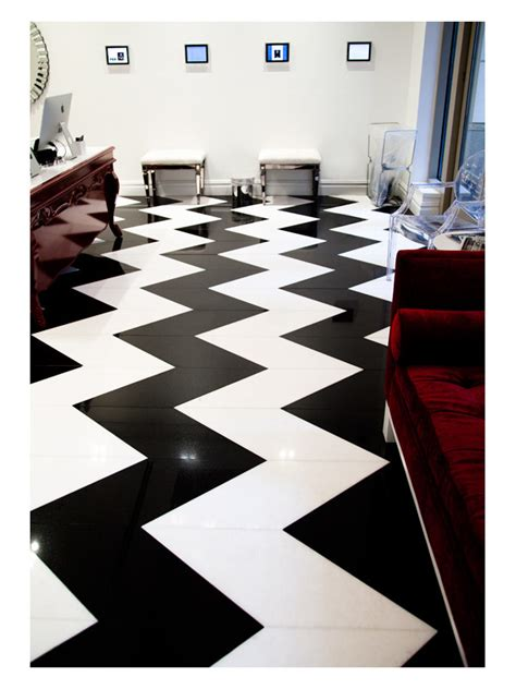 dreamdry nyc chevron floor pattern