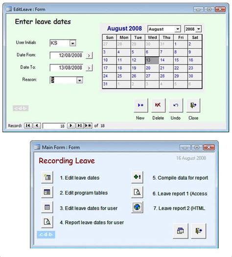 Microsoft Access Quotation Template by 31 Microsoft Access Templates Free Premium Templates