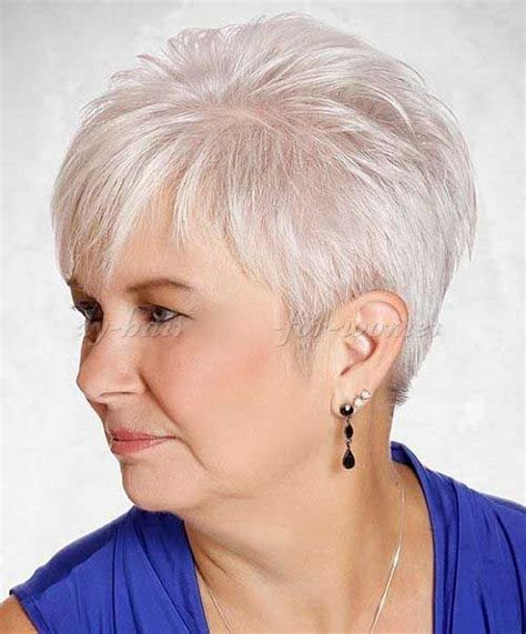 25+ Latest Short Hair Styles for Women Over 50 Haircuts