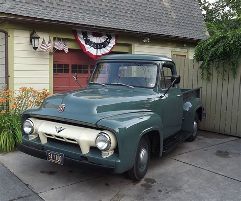 1954 Ford F100 by Abe S 1954 Ford F100 Classiccars Journal